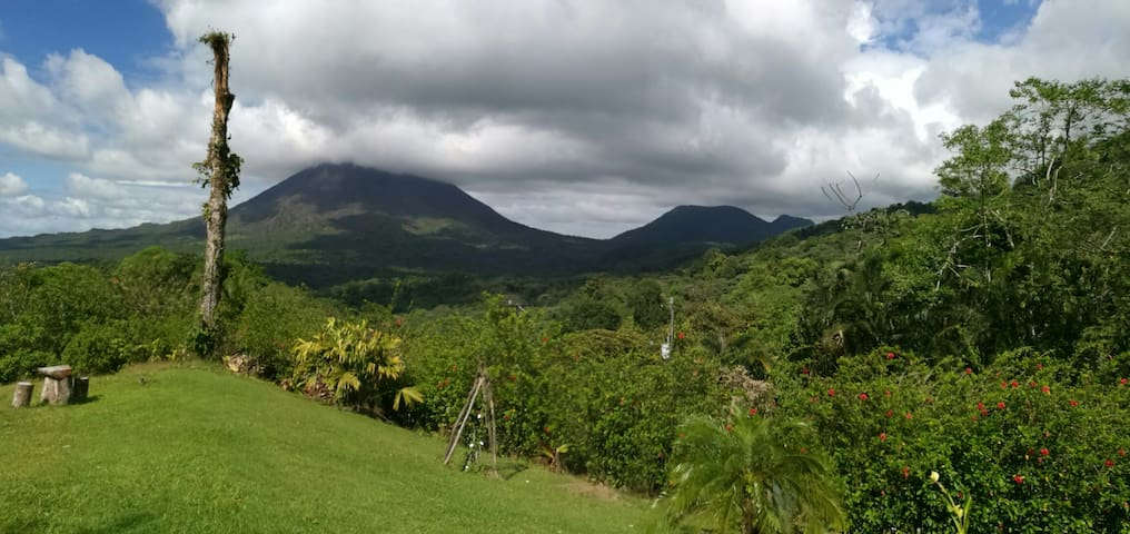 Perfect View Equipped Apartment. - La Fortuna