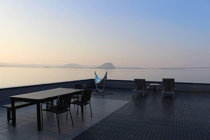 満天の星空に囲まれた最高の景色の唐津・佐賀リゾートホテルOcean - Karatsu-shi - Appartement