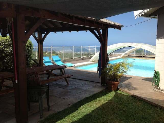 Fully furnished apartment with AC - Trois Mares - Appartement