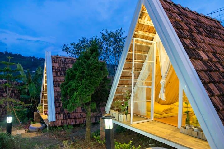 Vanda - Avocado Cabin house - tp. Đà Lạt - Cabane