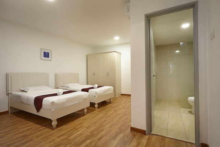 KLIA & KLIA2&F1(1 King&1Twin D6)@Sri Beverly Hills - Nilai - Appartement