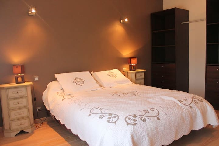 Spacieuse chambre grand confort - Châteauneuf-sur-Sarthe - Bed & Breakfast