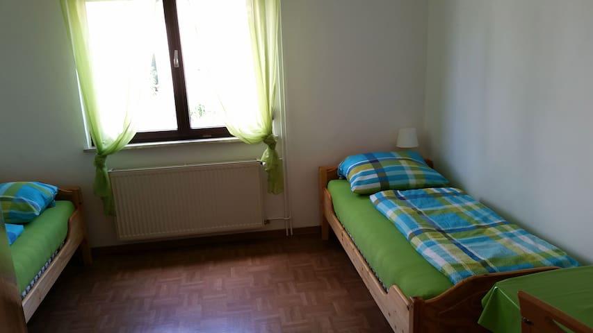 Pension Adrian - Doppelzimmer EG - Reilingen - Hospedaria