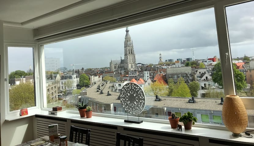 Appartment with great view in the city centre! - Breda - Leilighet