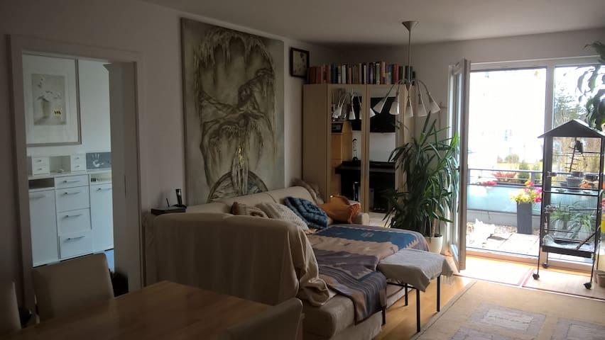 Zimmer mit Dachterrasse im Park - Munich - Leilighet