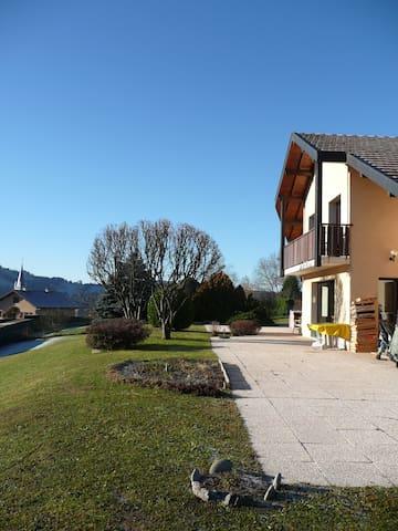Chez Françoise,calme,confort et simplicité...... - Thorens-Glières - Casa