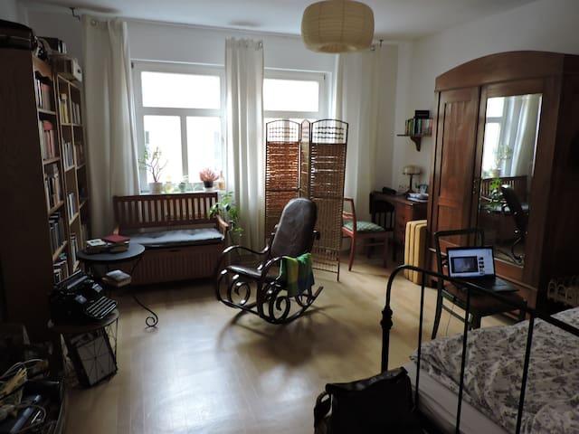 Gemütliches 19m2 Zimmer, 10 Minuten zum Zentrum - Jena - Appartement