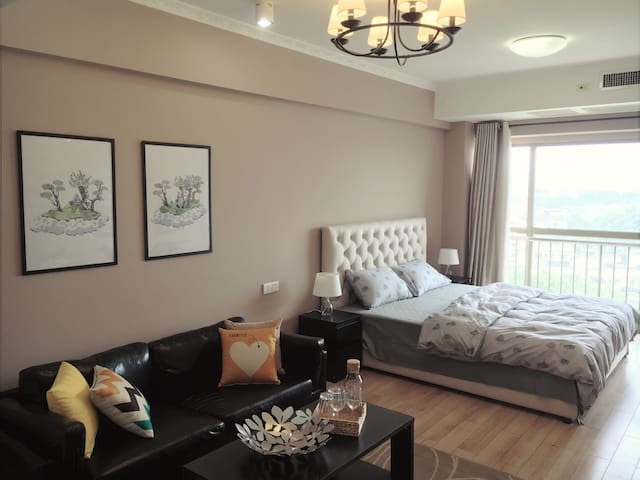 Spacious room, next to Confucius Temple and Subway - Nanjing - Apartament
