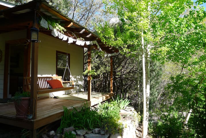 Casita Colibri - cozy tiny house, outside of DGO - Durango - Mökki