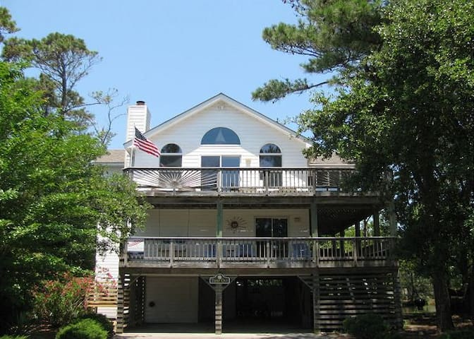 """""""Time Out"""" -  5 BR/4BA Beach Home in Corolla Light - Corolla - Hus"""