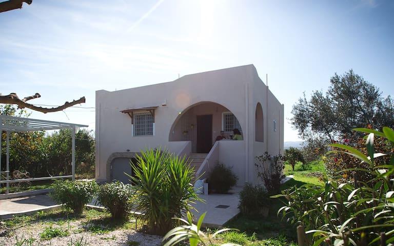 Family Manou Summer Country house - Vrachati Mpolati - Huis