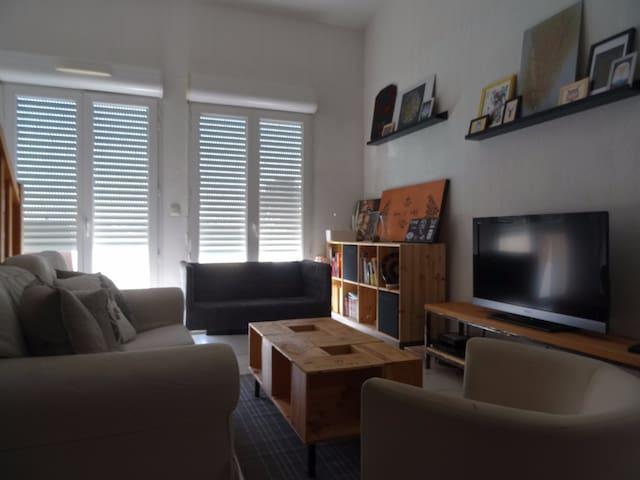 T4 à Bordeaux 6 pers à 10min du centre + parking - Bègles - Appartement