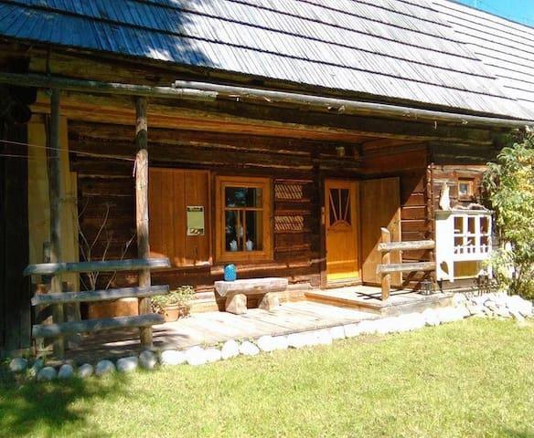 """""""Dziupla""""- Berghütte mit Sauna in der Hohen Tatra - Brzegi - Maison"""