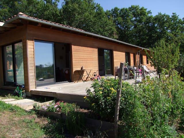 Grande maison en bois - Gamarde-les-Bains - Ev
