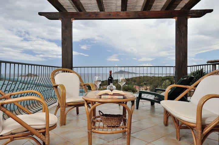 Panoramico appartamento vista mare - Santa Maria Navarrese - Leilighet