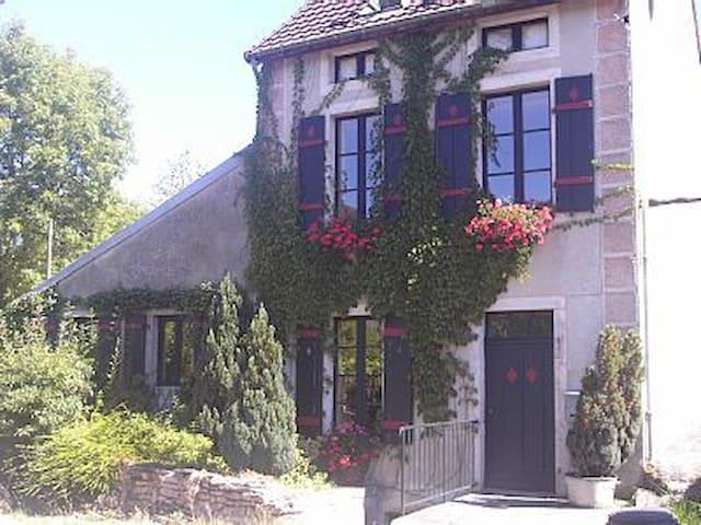 Maison Verte, La Bussière sur Ouche - La Bussière-sur-Ouche - Huis