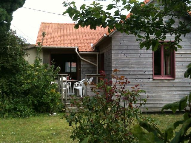 maison en bois à 800 m de la mer - Wissant - Hus