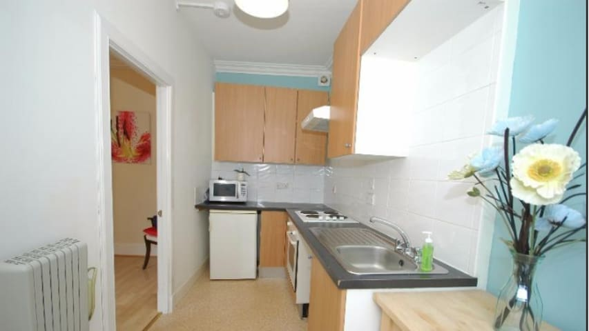 Modern Central Ayr Holiday Apartment - Ayr - Lägenhet