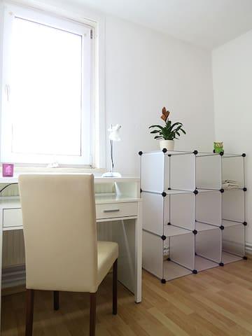 Helles Zimmer in der Innenstadt - Erfurt - Apartamento