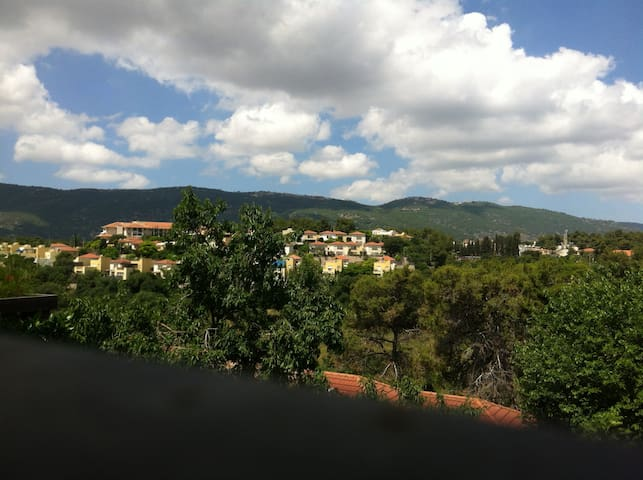 Peaceful home with view & garden - Kiryat Tiv'on