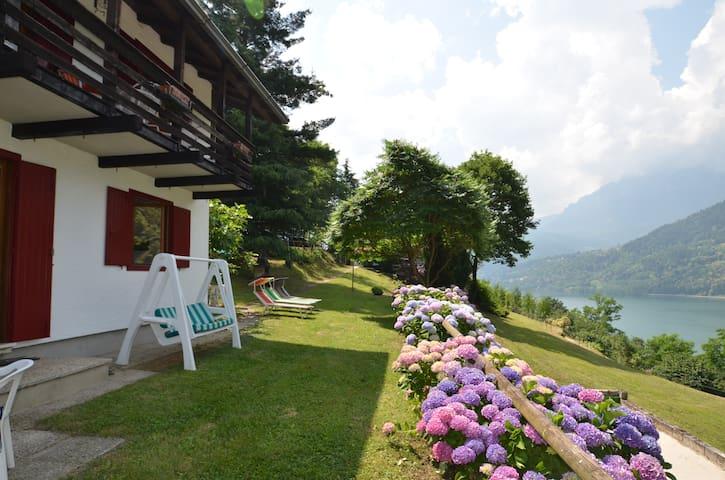 "Apartment ""Ciclamino"" panoramic lake view - Tenna"