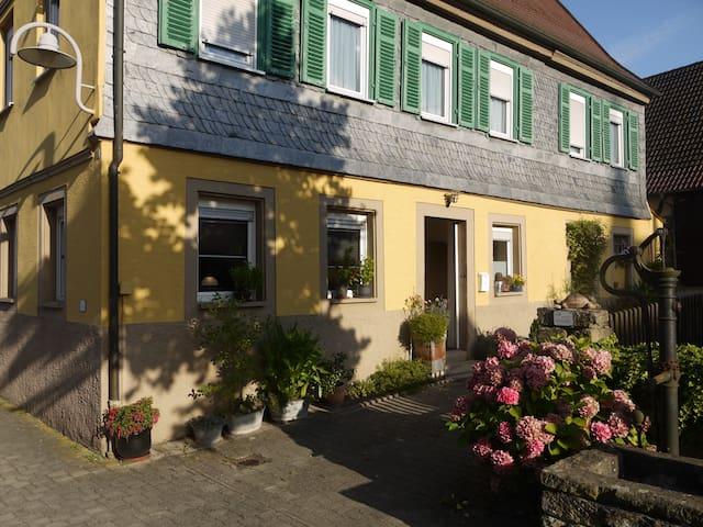 Altes Pfarrhaus Erligheim - mitten im Dorfkern! - Erligheim - Dům