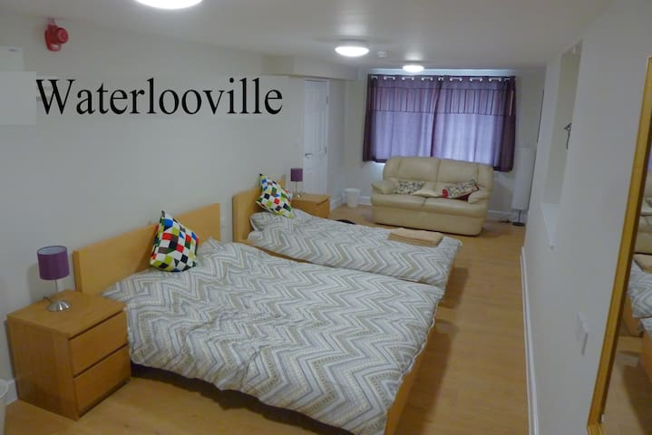 Ground floor, apartment with free parking, minutes away from Portsmouth - Waterlooville - Apartemen