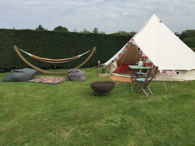 Glamping Close to Beach - Bell Tent for 2-4 people - Hunstanton