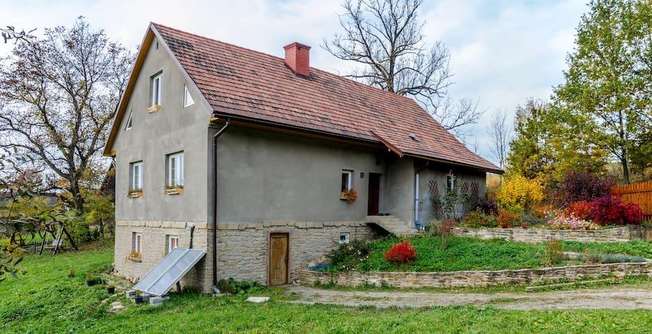 Samodzielny apartament z 2 sypialniami i salonem - Stryszów - Daire