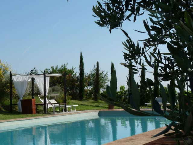 Charming house on the Umbrian hills. (CM) - Città della Pieve - Hus