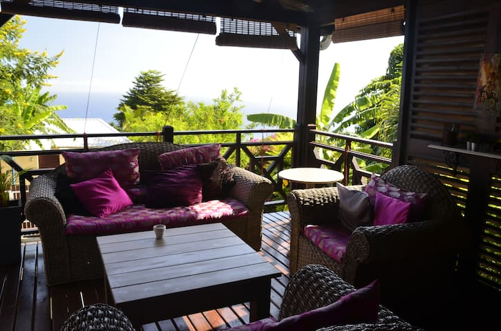 Maison confortable avec vue océan - Les Avirons - Ev