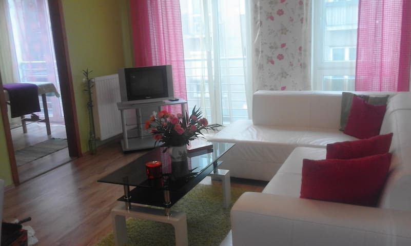 Apartment with Private parking! - Győr - Appartement