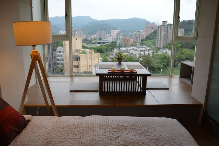 TAIPEI DESIGN APT 02. Taipei 5' MRT.Mountain View - Wenshan District
