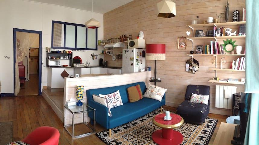 Cozy apartment - Confulence distric - Lyon - Leilighet