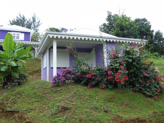 Petite maison créole proche plage - La Trinité - Dom