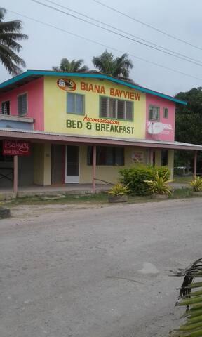 Biana Settlement, Vunisea, but - Bayview - Oda + Kahvaltı