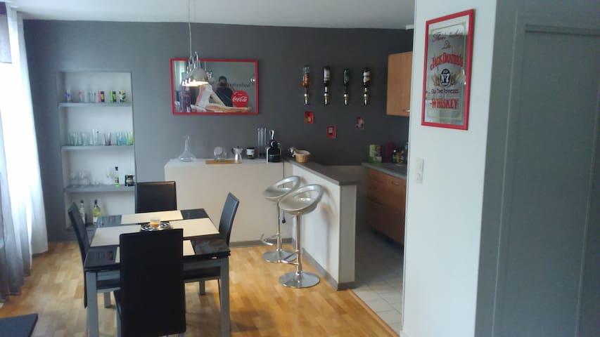 Appartement moderne et spacieux-Plein centre ville - Périgueux - Appartement
