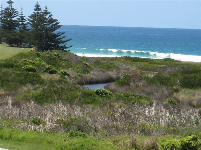 Watch the whales from the balcony. - North Narooma - Departamento