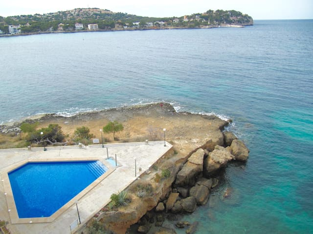 Amazing apartment on the coast line - Rotes Velles - Daire