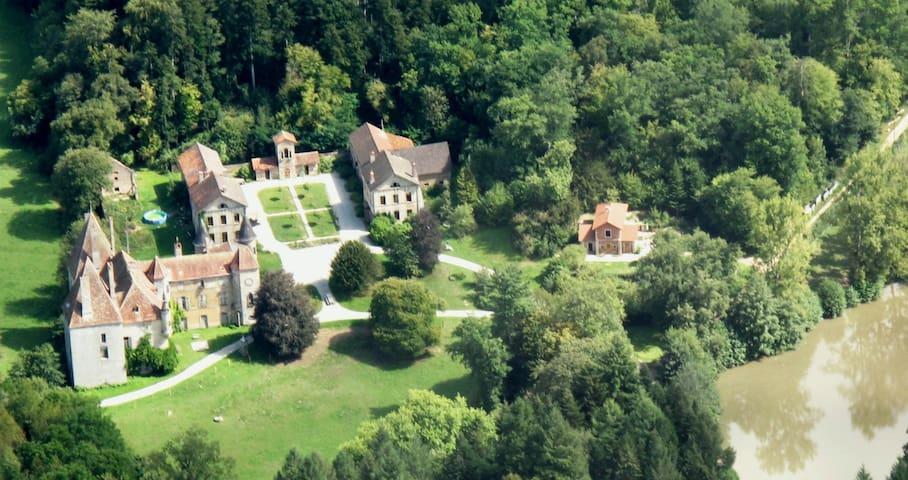 13ha estate with midieval castle, near Beaune, P - Couches - Wikt i opierunek