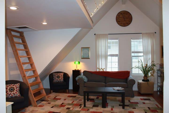 Cozy studio loft apartment - Sacramento - Dom