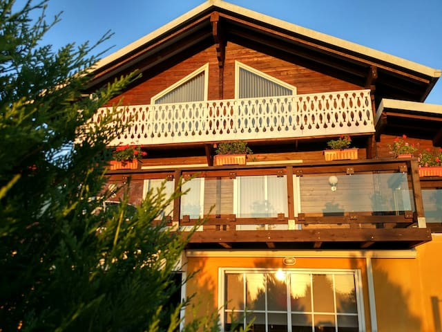 Mountain Chalet with private pool - Cotobade - Ev