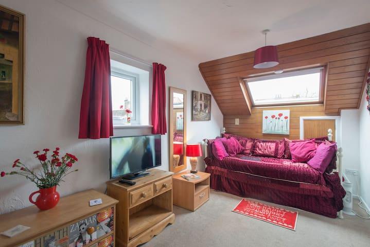 City centre studio & secure parking - Norwich - Apartamento
