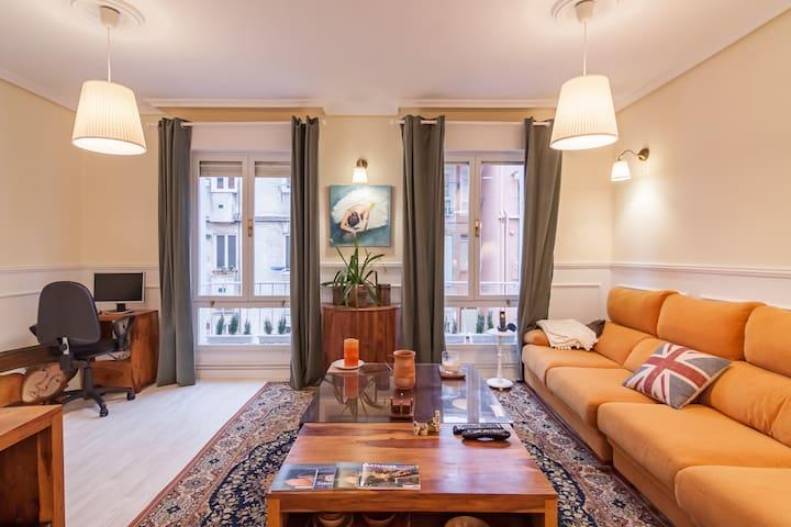 Beautiful comfortable apartment  Santander centre - Santander - Hus