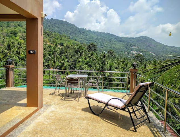 Apartment on Chaweng Mountain with a Nice View - Ko Samui - Departamento