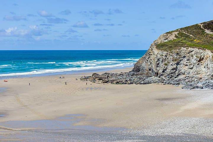 Beach annex, level short walk to superb beach - Porthtowan - Apartamento