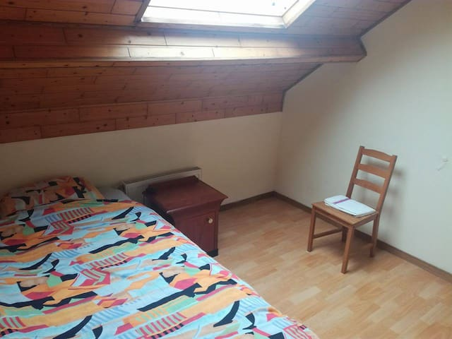 PRIVATE room in Brussels - Schaerbeek - Rumah