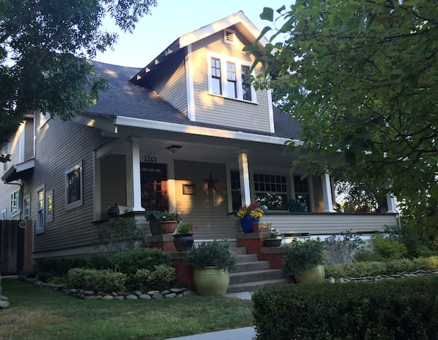 Craftsman Bungalo - Red Bluff - Hus
