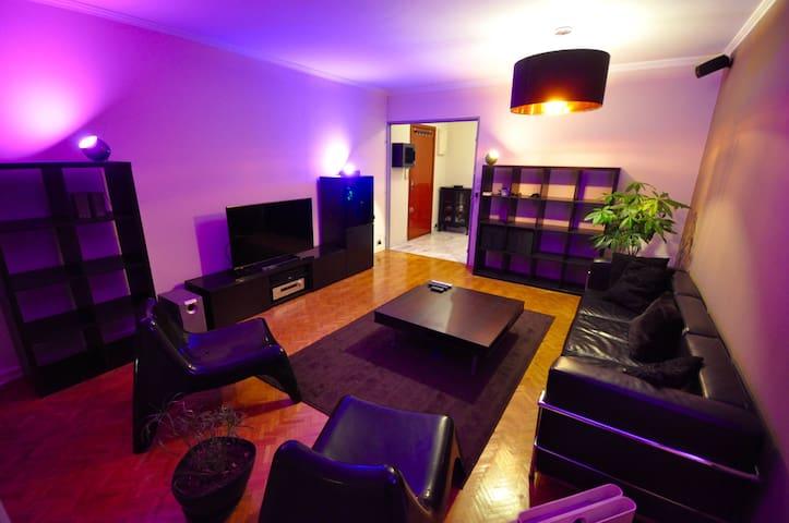 Big house close to center and train, quiet - Dijon - Apartamento