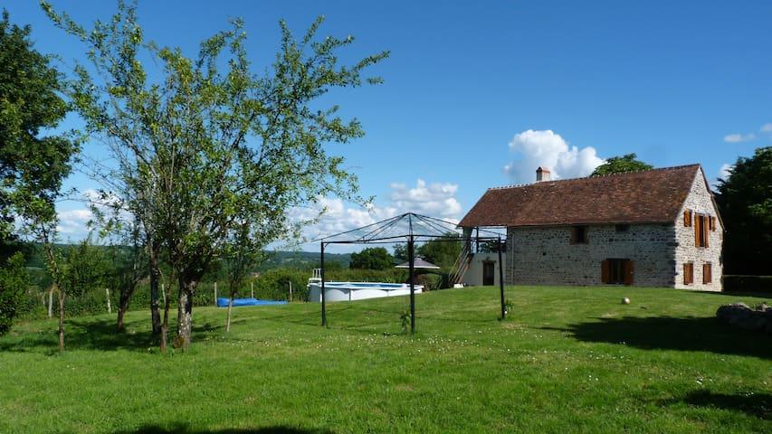 Le Tournesol. Beautiful country cottage. - Lignac - Huis